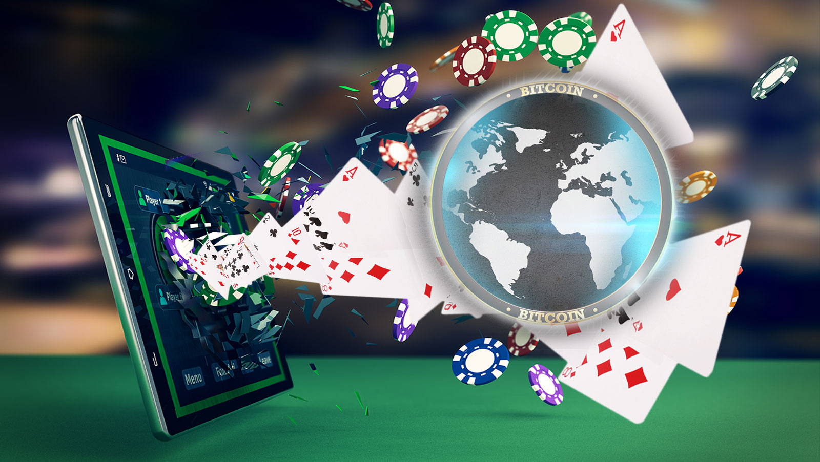 Good features of online poker